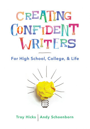 Creating Confident Writers Book Cover Image